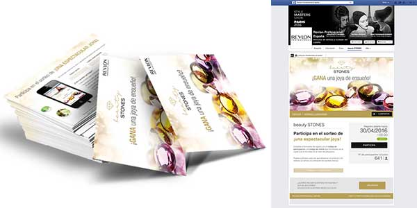 Agencia Creativa Eliptic Group Beauty Stones Promoción 300