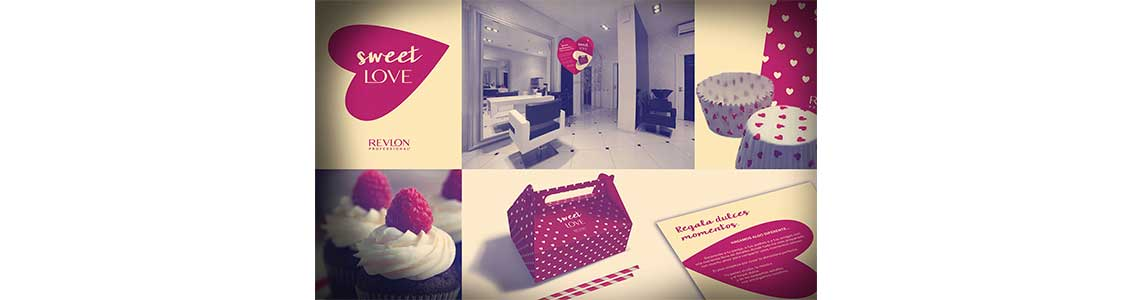 Agencia Creativa Eliptic Group Sweet Love Revlon Professional